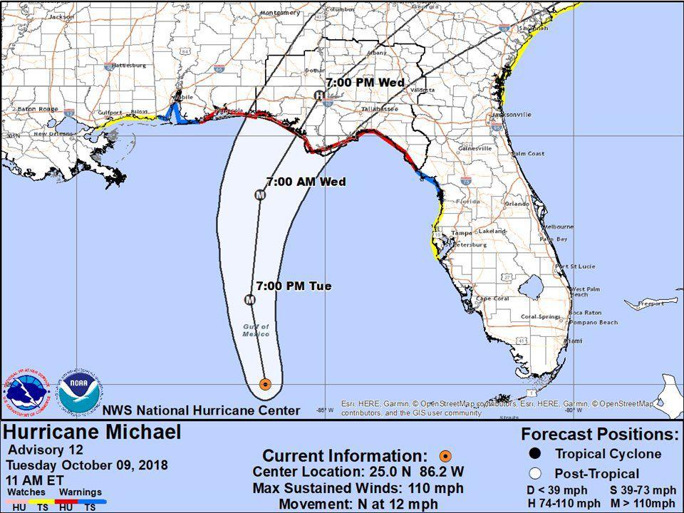 Get Ready Hurricane Michael S Heading In News Dothaneagle Com