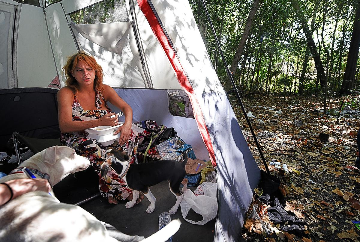 Dothan's displaced are living in tent cities suffering from addiction, mental and physical disabilities