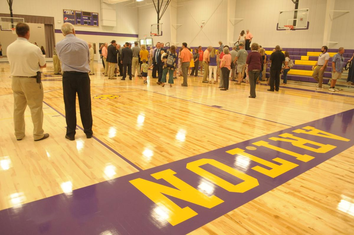 Ariton School Gymnasium dedication