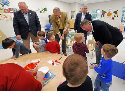 Coleman Center for Early Learning and Family Enrichment tour