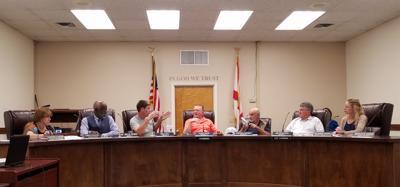 County board meets