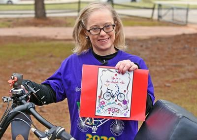 Special Olympic cyclist Brandi Deese raises money for therapeutic cycling program