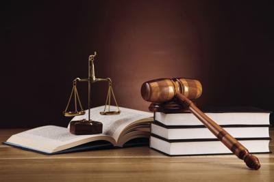 Crime justice gavel