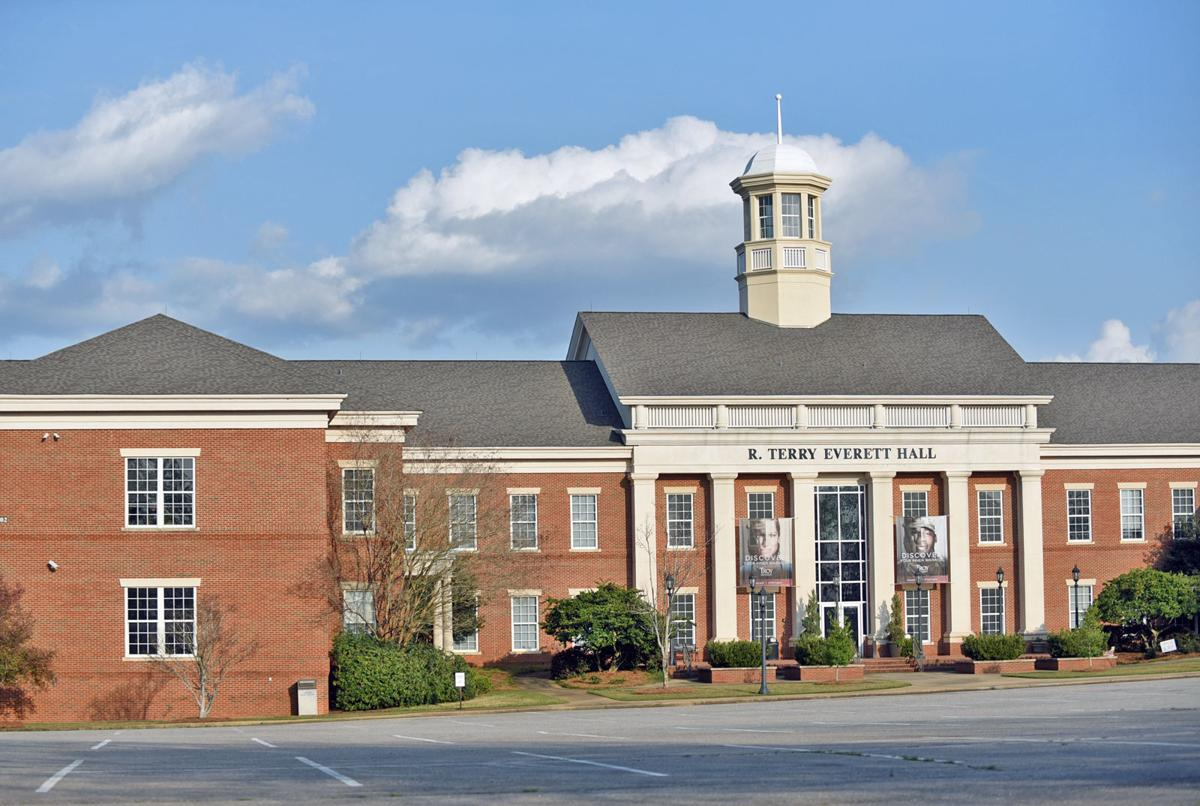 The Troy University Dothan campus moves to online classes