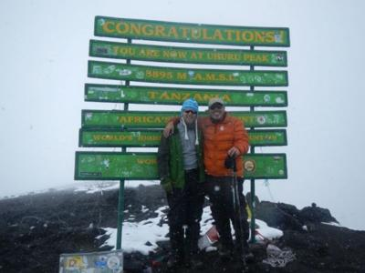 Dothan's mayor, son conquer Kilimanjaro