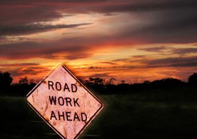 Road Work Ahead Generic