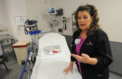 Pam Cole with Flowers Hospital talks about the hospital's new rooms designed for older adults.