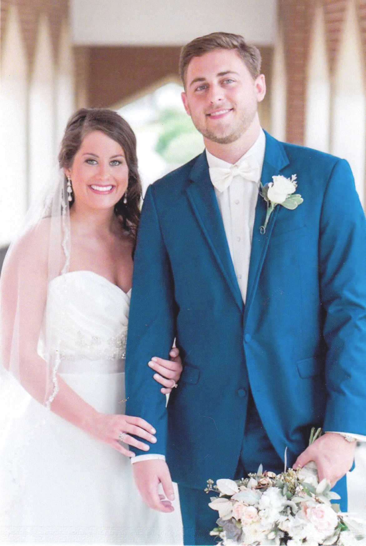 White, Gilchrist Wedding | Weddings Engagements | dothaneagle.com