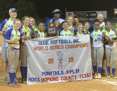 0809 Dixie Ponytails World Series champs photo