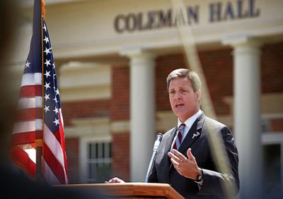 Coleman Hall dedication