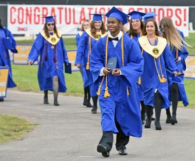 Houston County High School graduation 2020
