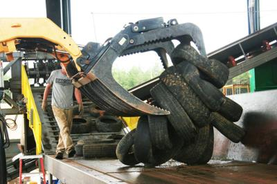 Tire Processing Center