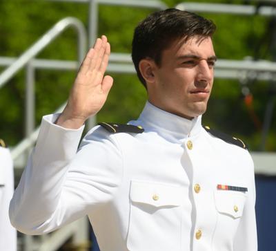 Enterprise native graduates from U.S. Naval Academy