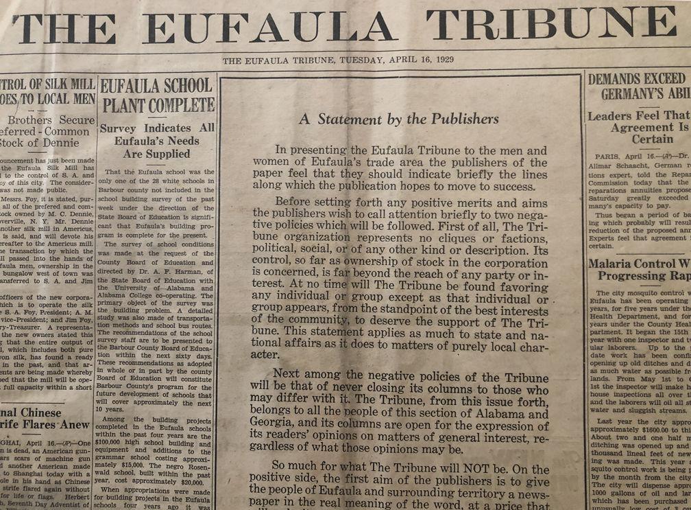 3a9a8faf20915 Tribune turns 90