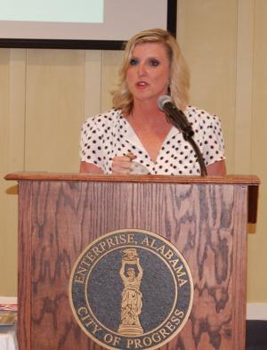 Trisha Black speaks about Main Street Alabama