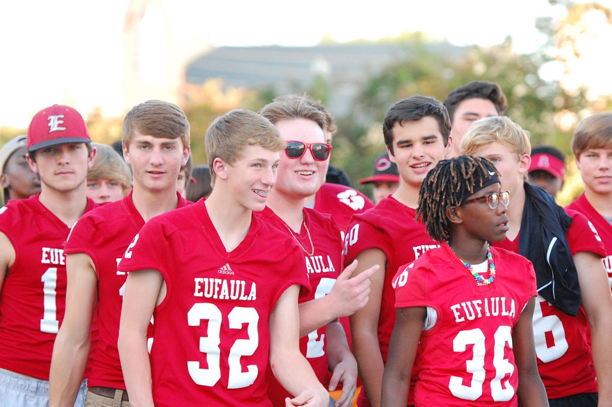 Eufaula, Lakeside homecoming parades