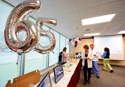 Flowers celebrates 65th anniversary