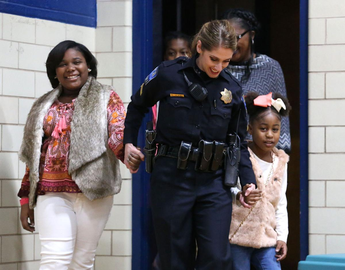 a reason to smile tulsa police officers coordinate christmas gifts for children whose parents died in homicides - Christmas Gifts For Police Officers