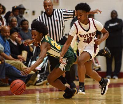 Dothan vs Carver Montgomery girls prep basketball