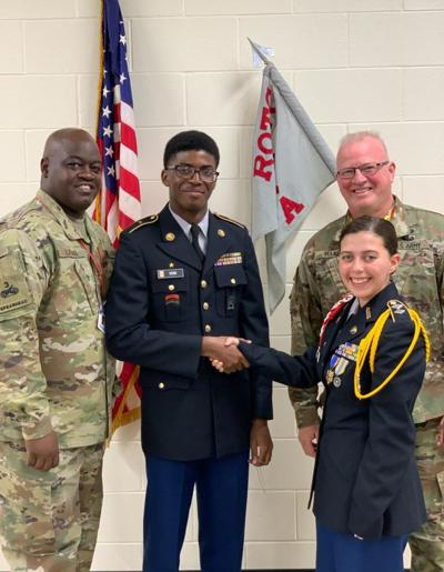 Cadet honored