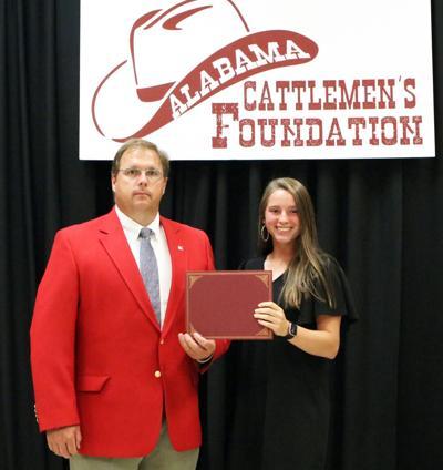 Hobbs awarded Alabama Cattlemen's Foundation Scholarship