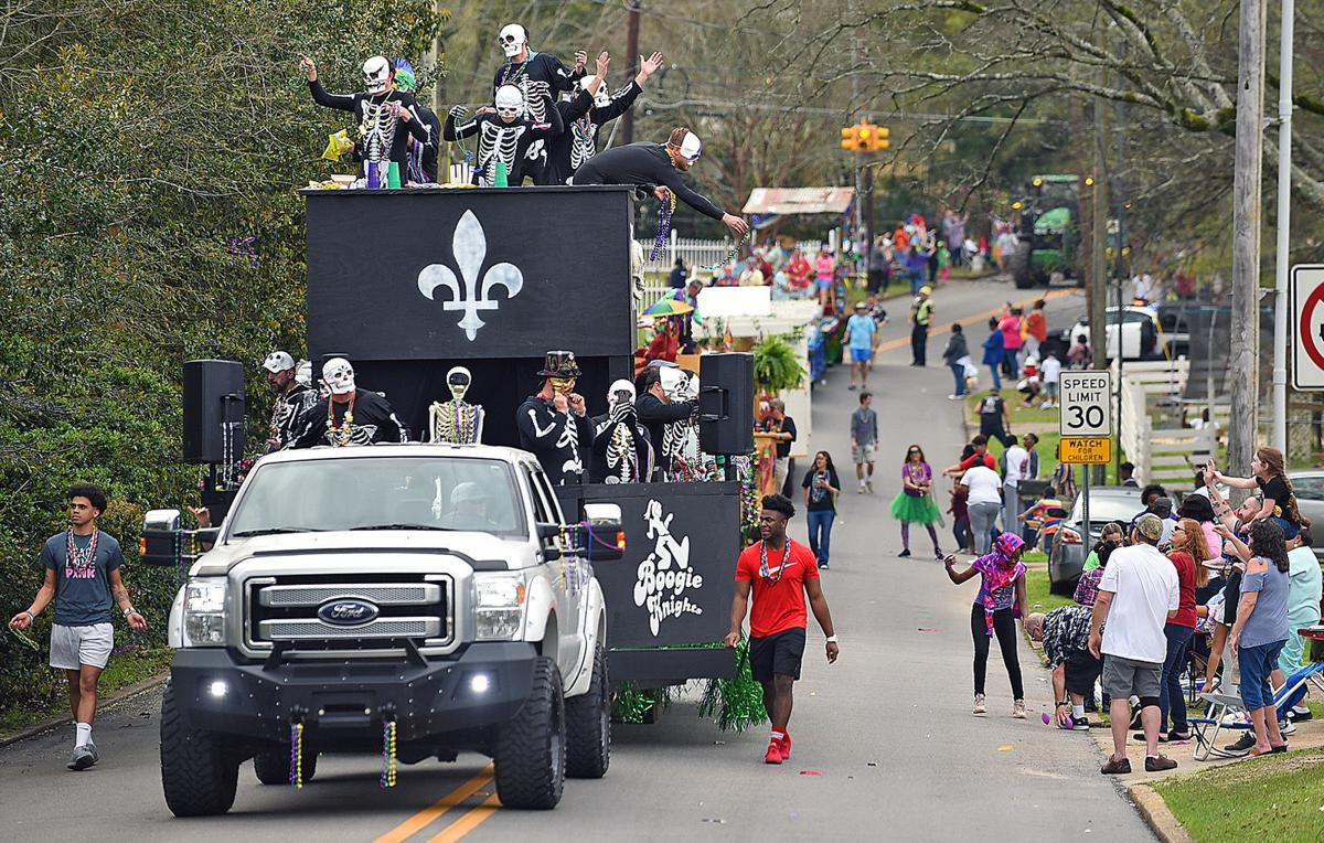 Krewe of Kolosse Mardi Gras Parade 2019