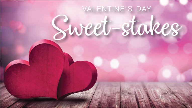 Enter to Win! Valentine's Day Sweet-Stakes