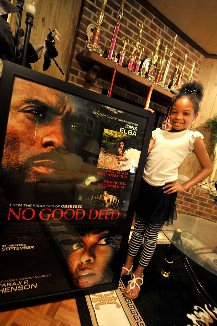 Daleville girl finds spotlight in 'No Good Deed'   Local ...