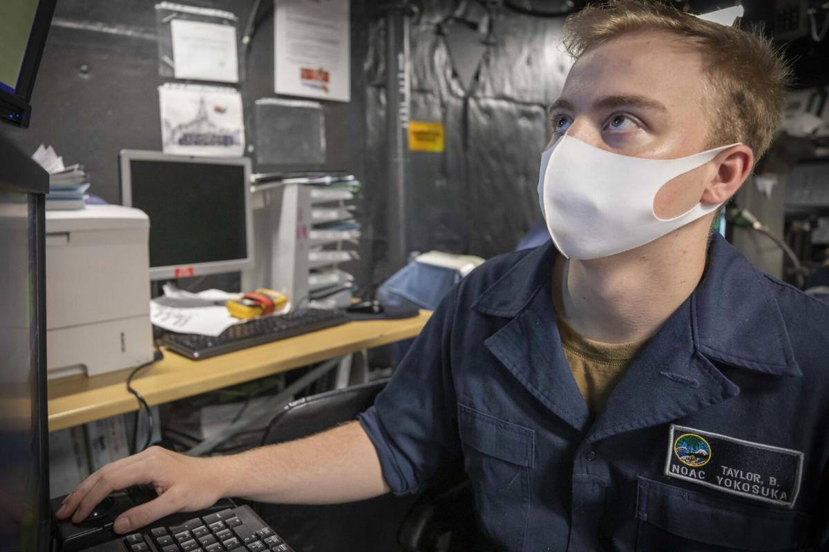 Dothan native serves aboard USS John S. McCain while conducting operations in the Philippine Sea