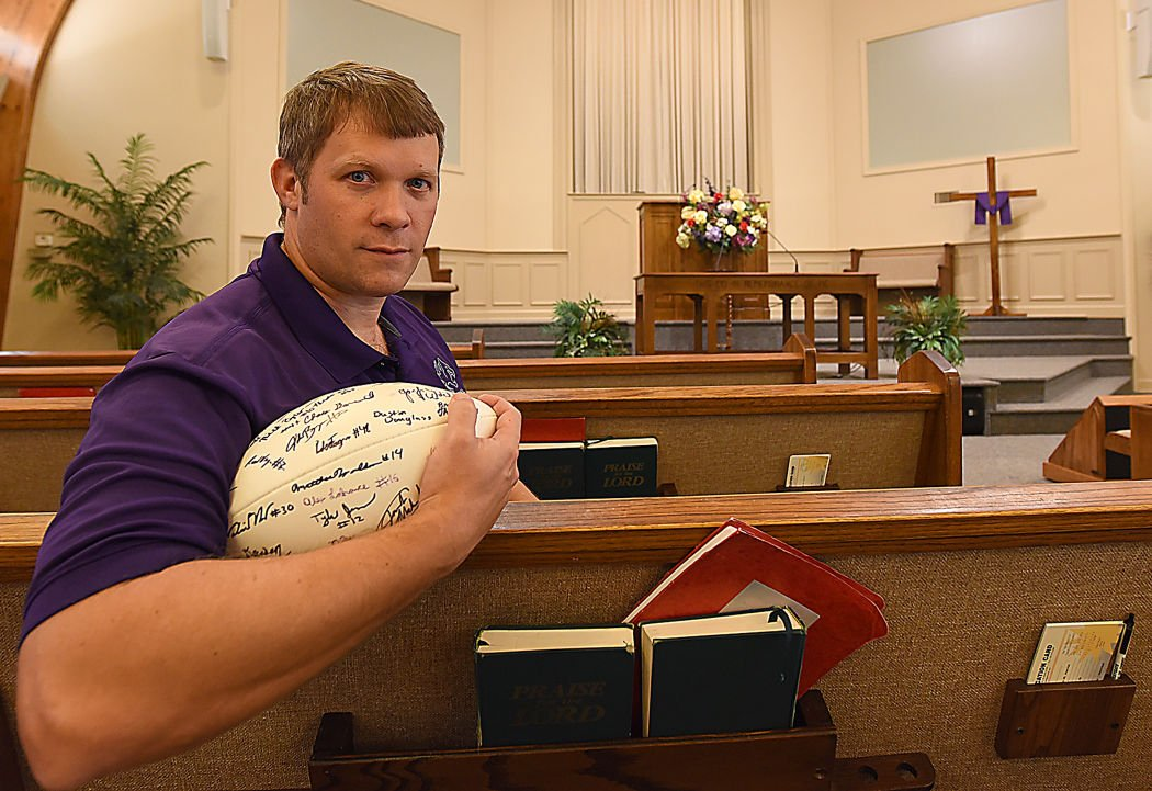 Former football coach chris jones now lead minister at westgate westgate church of christ pastor chris jones publicscrutiny Gallery