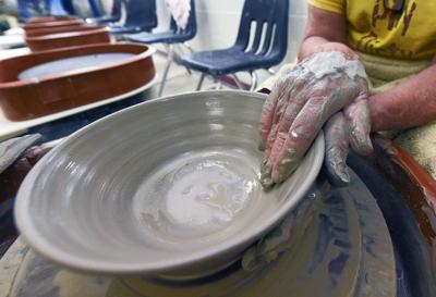 Pottery at the Cultural Arts Center
