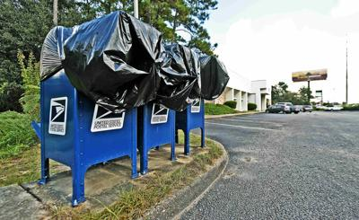 Dothan Post Office Collection Boxes