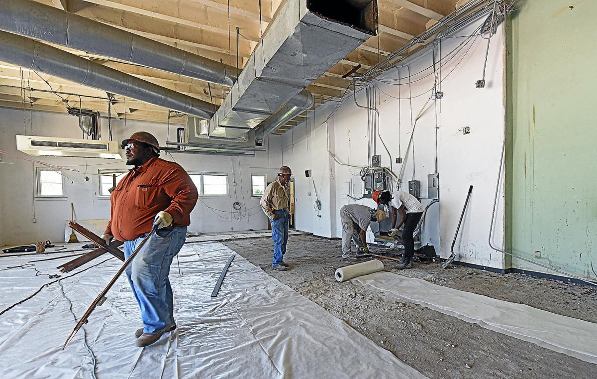 Dothan Preparatory Academy construction
