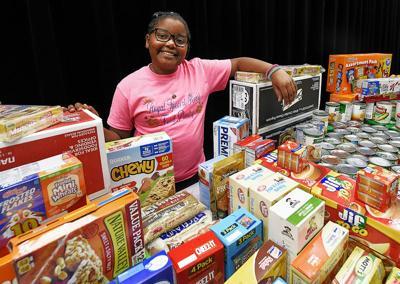 Student starts food pantry