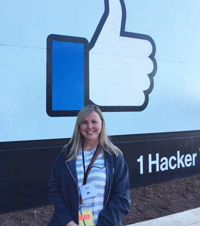 Enterprise teacher travels to Facebook summit