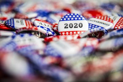 2020 elections buttons