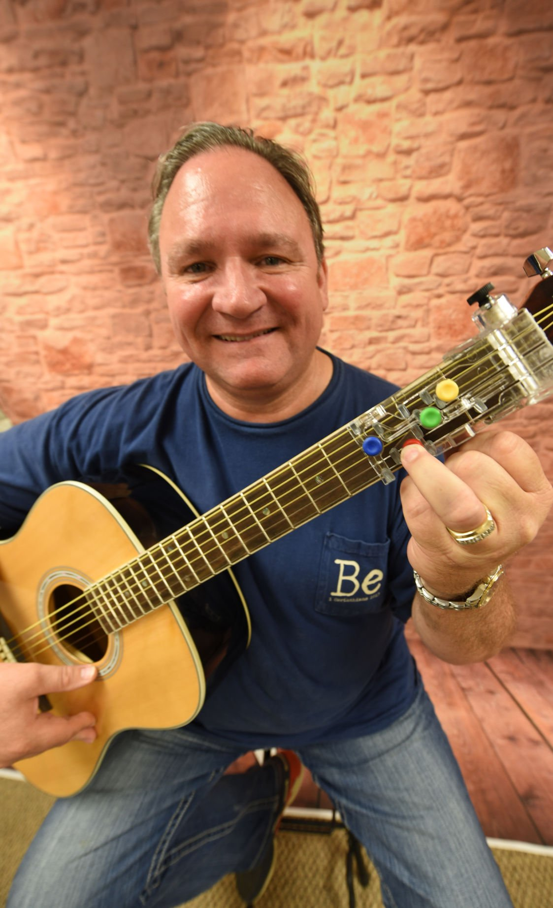 Chord Buddy Inventor Working To Get Guitar Into School Music