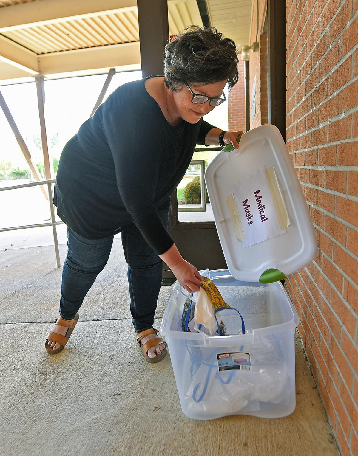 Local churches answering need for surgical masks