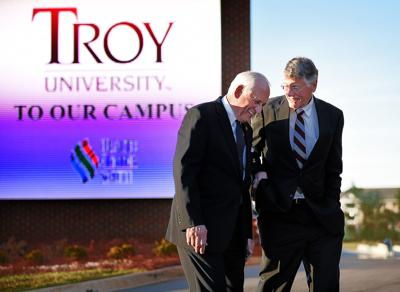 Troy University and Heersink Family Foundation announce scholarship and academic program