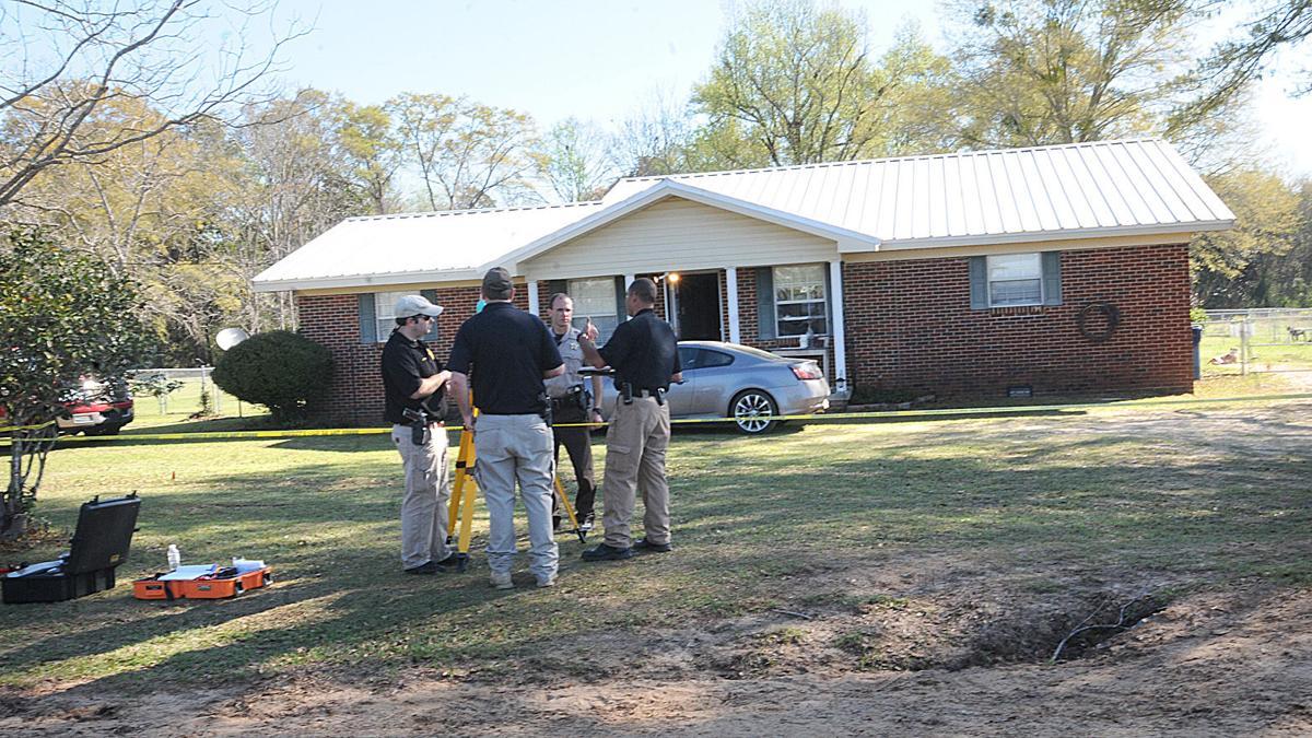 Cottonwood crime scene