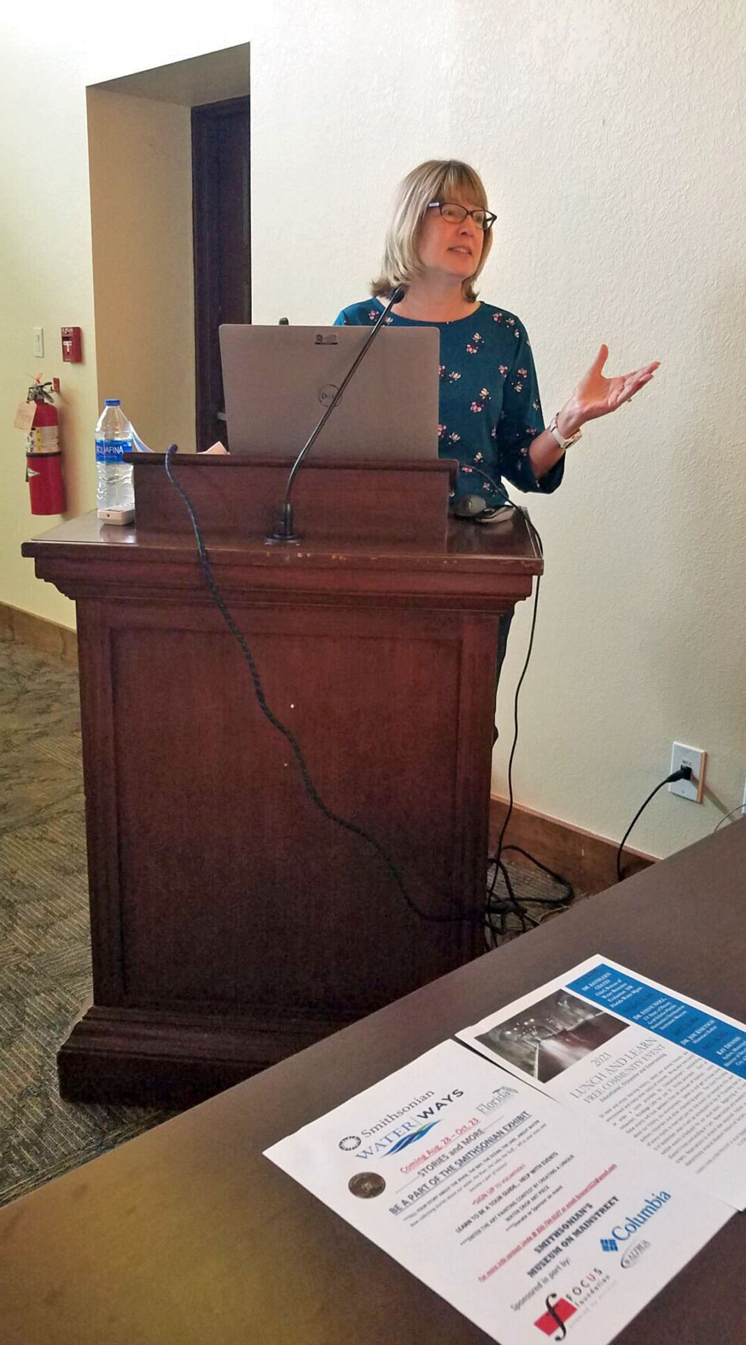 NFWMD bureau chief speaks at Lunch and Learn