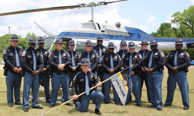 ALEA Trooper Class 2021-A graduates from training center in Selma