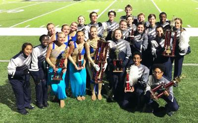 Big Blue Band shines at competition