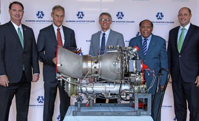 Safran donates advanced engine to ESCC