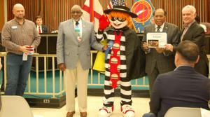 Parade float winners honored at council meeting