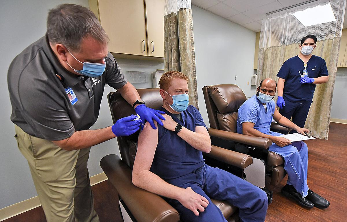 First Covid-19 vaccines administered in Dothan (copy)