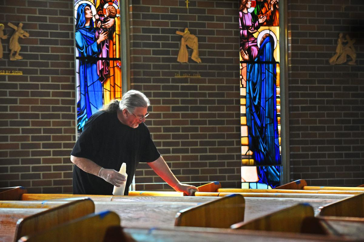 Churches reopening for worshipers