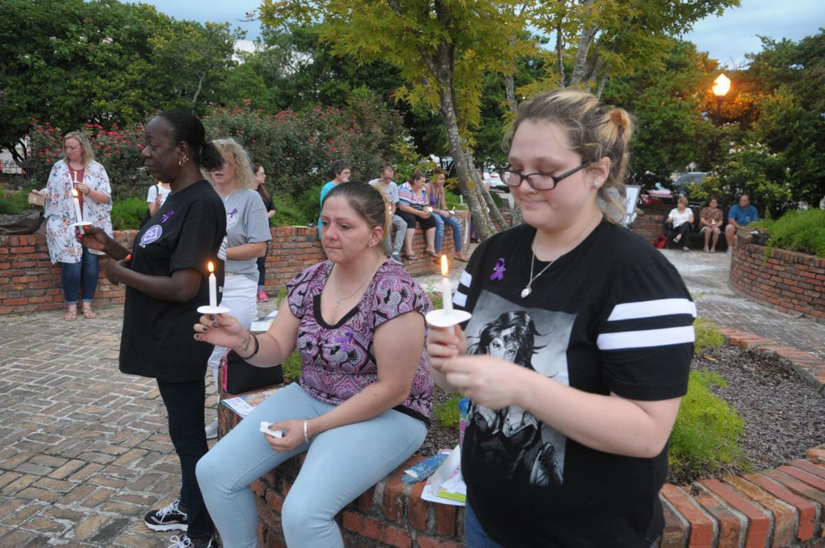 Overdose Awareness Day candlelight vigil