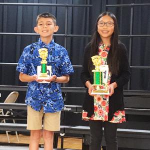 Wesolek takes top honors at Pinedale Spelling Bee