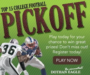 Play Our College Football Pickoff